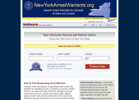 Newyorkarrestwarrants.org thumbnail