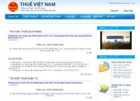 Nhantokhai.gdt.gov.vn thumbnail