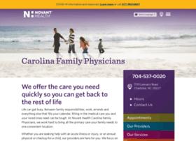 Nhcarolinafamilyphysicians.org thumbnail
