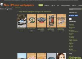 Niceiphonewallpapers.com thumbnail