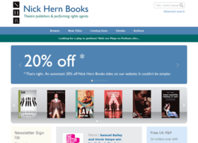 Nickhernbooks.co.uk thumbnail