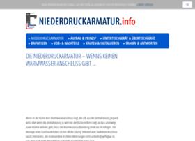 Niederdruckarmatur.info thumbnail