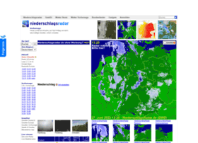 Aktuelles Niederschlagsradar Deutschland