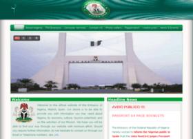Nigerianembassyspain.org thumbnail