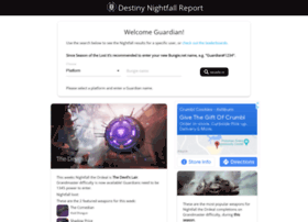 Nightfall.report thumbnail