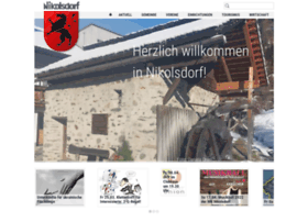 Nikolsdorf.at thumbnail