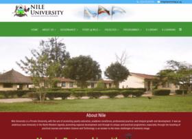 Nileuniversity.ac.ug thumbnail