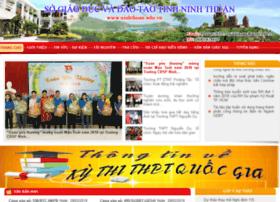 Ninhthuan.edu.vn thumbnail