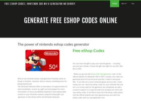 Nintendoeshopcodes.weebly.com thumbnail