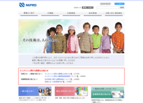 Nipro.co.jp thumbnail