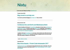 Nixtu.info thumbnail