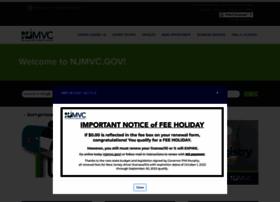 Njmvc.gov thumbnail