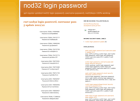 Nod32loginpassword.blogspot.com thumbnail