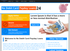 Nodebitcardpaydayloans24.co.uk thumbnail