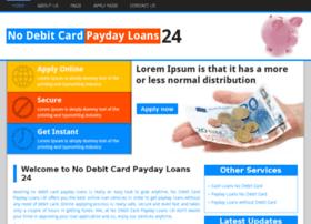 Nodebitcardpaydayloans24.co.uk thumbnail