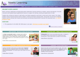 Noetic Learning Com At Wi Online Math Programs Free Math