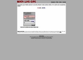 Nokialockcode.com thumbnail