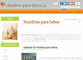 Nombres-para-bebes.info thumbnail