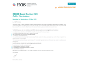 Nominations.escrs.org thumbnail