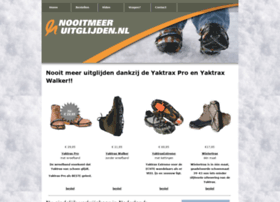 Nooitmeeruitglijden.nl thumbnail