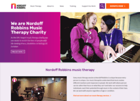 Nordoff-robbins.org.uk thumbnail