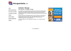 Norgearbete.se thumbnail