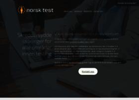 Norsktest.no thumbnail