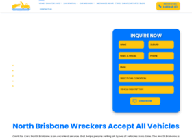 Northbrisbanewreckers.com.au thumbnail