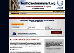 Northcarolinawarrant.org thumbnail