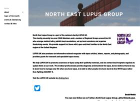 Northeastlupus.org.uk thumbnail