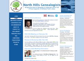 Northhillsgenealogists.org thumbnail