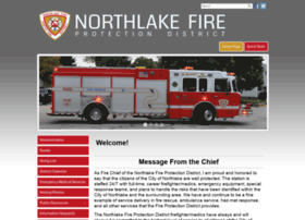 Northlakefire.org thumbnail