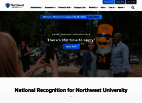 Northwestu.edu thumbnail