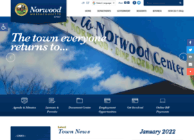 Norwoodma.gov thumbnail