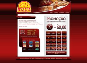 Nostrapizza.com.br thumbnail