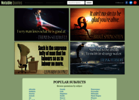 Notable-quotes.com thumbnail