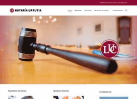 Notariaurrutia.com.pe thumbnail