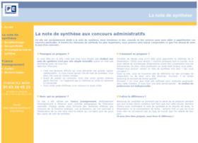Note-de-synthese.fr thumbnail