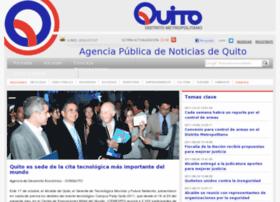 Noticiasquito.gov.ec thumbnail