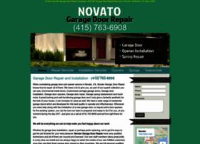 Novatogaragedoorrepair.biz thumbnail