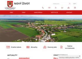 Novyzivot.sk thumbnail