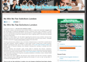 Nowinnofeesolicitors-london.co.uk thumbnail