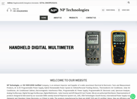 Nptechnologies.co.in thumbnail