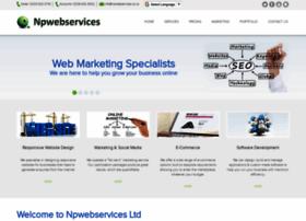 Npwebservices.co.uk thumbnail