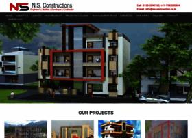 Nsconstruction.co.in thumbnail