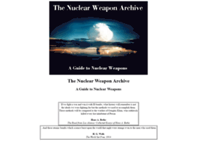 Nuclearweaponarchive.org thumbnail