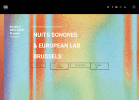 Nuits-sonores.be thumbnail