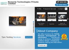 Numerixtechnologies.com thumbnail