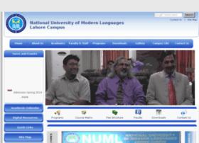 Numllahore.edu.pk thumbnail