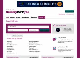 Nurseryworldjobs.co.uk thumbnail